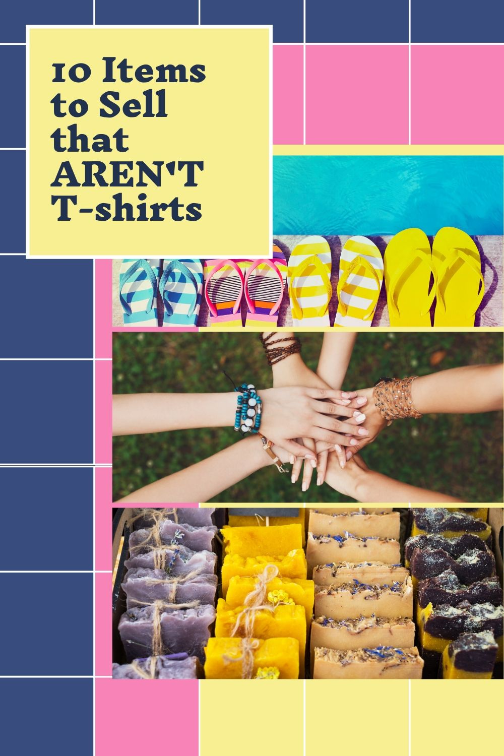 raise money and sell items that are not t-shirts