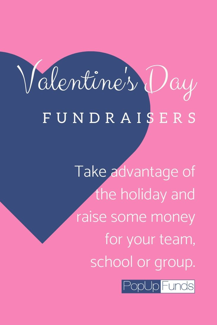 Raise money during Valentine's Day with Popup Funds.