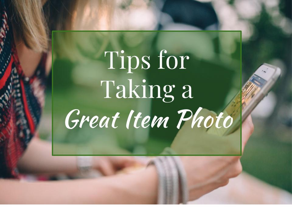 Tips for taking a great item photo | PopUpFunds.com