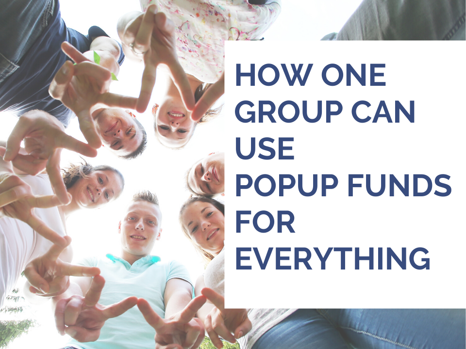 Using PopUu Funds